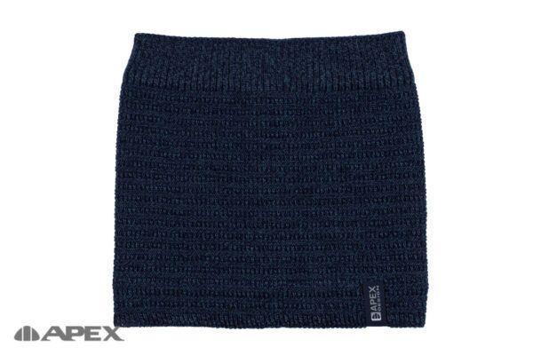 Снуд Зодиак меланж - темно-синий + джинс